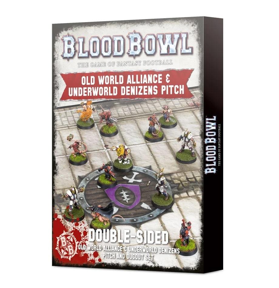 Blood Bowl - Old World Alliance & Underworld Denizens Pitch and Dugout Set
