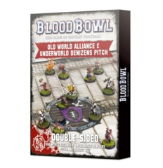 Blood Bowl - Old World Alliance & Underworld Denizens Pitch and Dugout Set