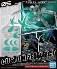 Gundam - Customize Effect 05 - Slash Image Green (1/144)