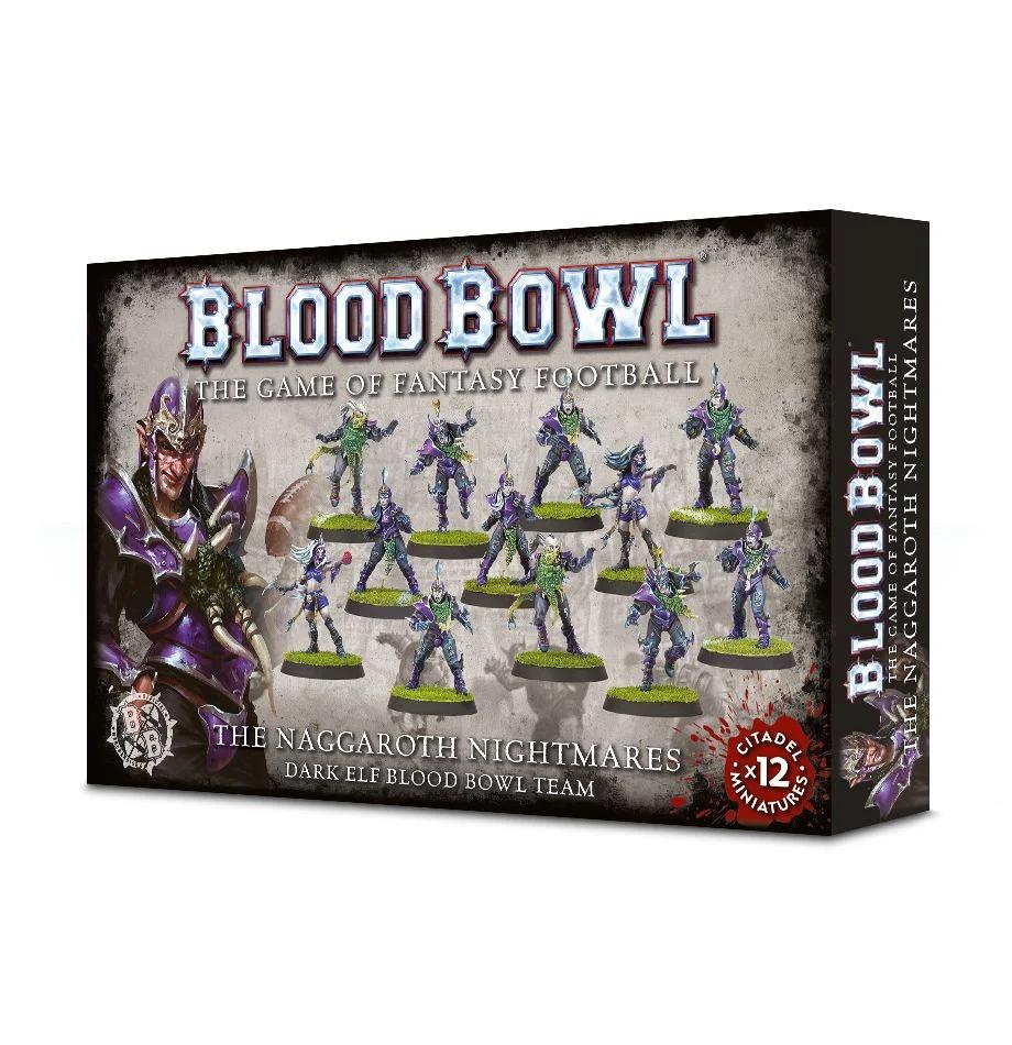 Blood Bowl - The Naggaroth Nightmares Dark Elf Blood Bowl Team