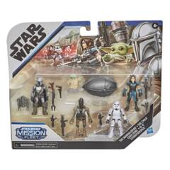 Star Wars Mission Fleet - The Mandolarian - Defend The Child 5 Pack Action Figure Set