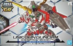 Gundam SD Cross Silhouette - Unicorn (Destroy Mode)