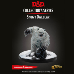 D&D Collector's Series - Icewind Dale Rime of the Frostmaiden - Snowy Owlbear