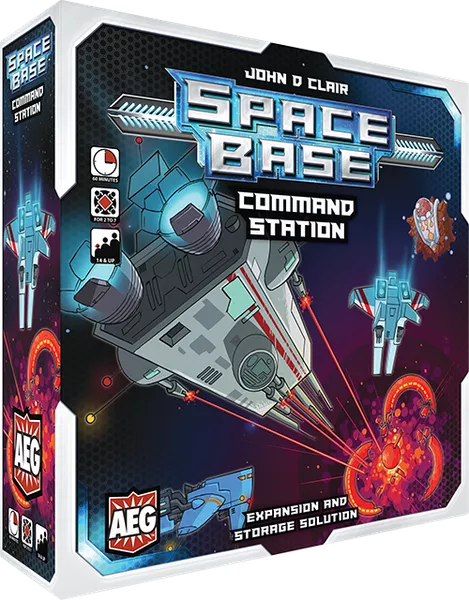Space Base - Command Station Expansion and Storage Solution