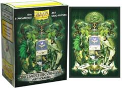 Dragon Shield - Classic Art Sleeves - King Mothar 100 ct