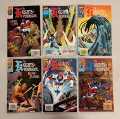 Knights of Pendragon (Marvel 1990) #1-18 Complete Set Dan Abnett (8.0+)