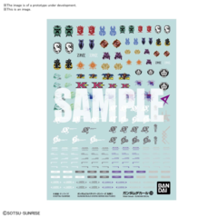 Gundam Decal - Gundam Build Divers Series Multiuse 1 #124