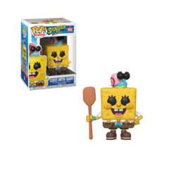 Pop! The Spongebob Movie - Spongebob Squarepants With Gary Vinyl Fig (Funko #916)