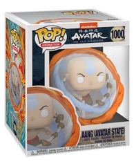 Pop! Avatar The Last Airbender - Super Aang All Elements (Avatar State) 6inch Fig