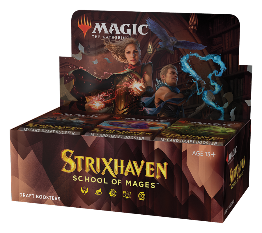 Strixhaven: School of Mages - Draft Booster Box (No Store Credit)