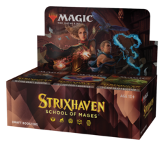 Strixhaven: School of Mages - Draft Booster Box (No Pay in Store, or Store Credit)
