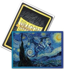 Dragon Shield - Brushed Art Sleeves - Starry Night 100ct