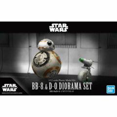 Star Wars Model Kit - BB-8 & D-O Diorama Set