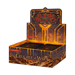 Flesh and Blood TCG - Crucible of War Unlimited Booster Box (no store credit)