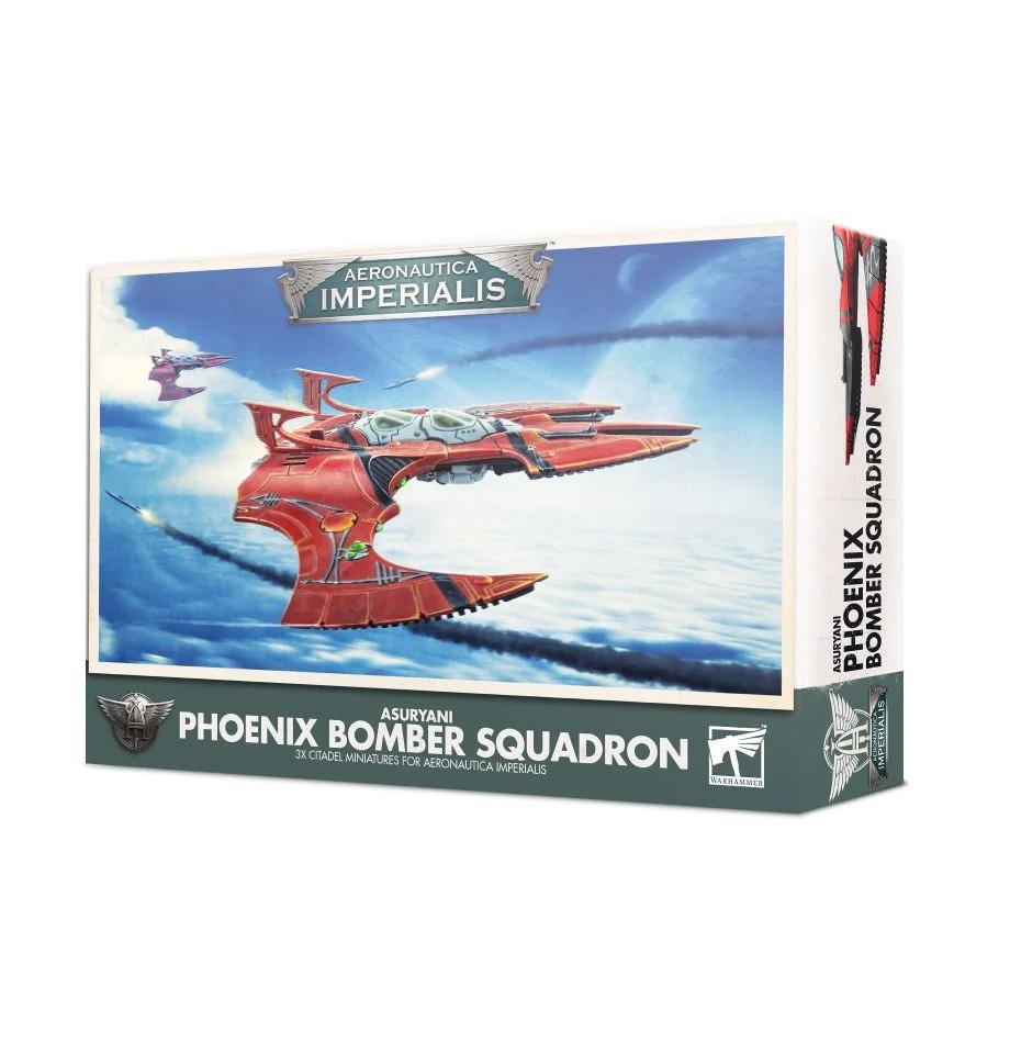 Aeronautica Imperialis - Asuryani Phoenix Bomber Squadron