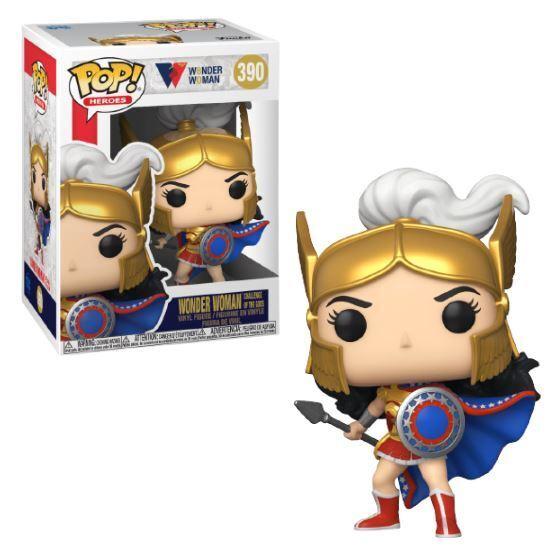 Pop! - DC Heroes Wonder Woman 80th Anniversary - Challenge of the Gods Wonder Woman