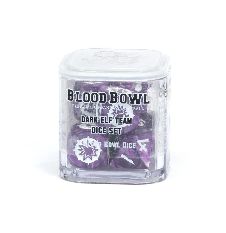 Blood Bowl -  Dark Elf Team - Dice Set