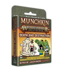 Munchkin Warhammer Age of Sigmar: Death and Destruction