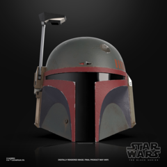 Star Wars The Black Series - The Mandalorian - Boba Fett Electronic Helmet