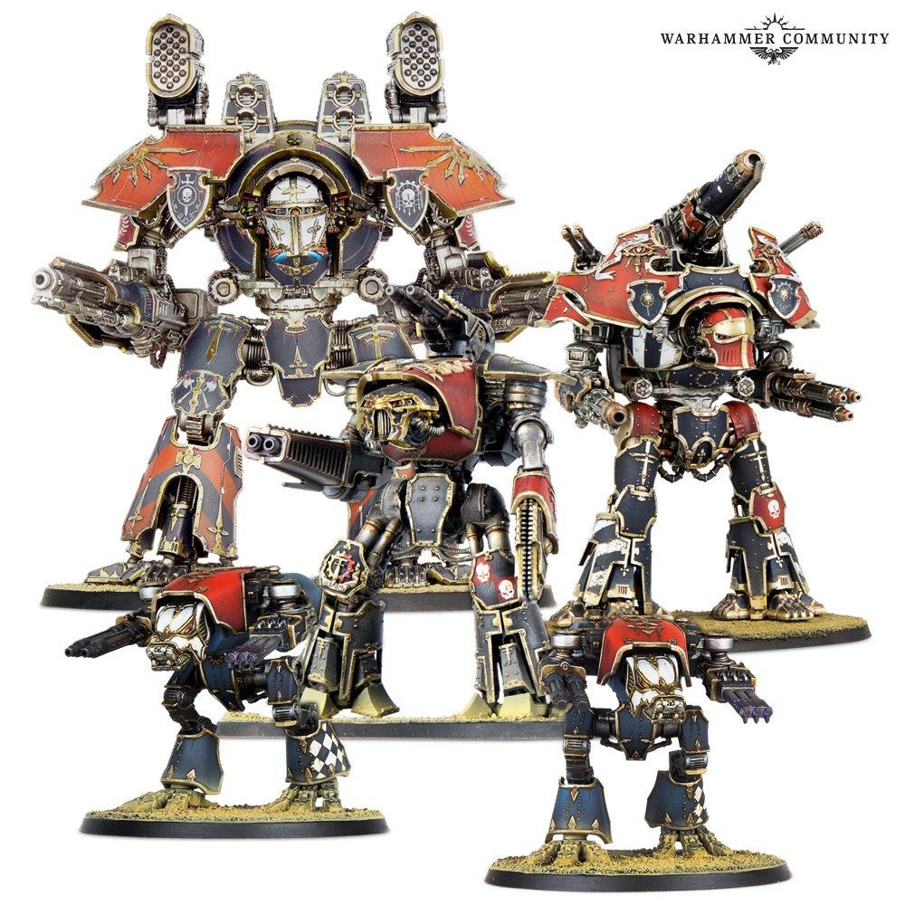 Adeptus Titanicus - Warmaster Heavy Battle Titan