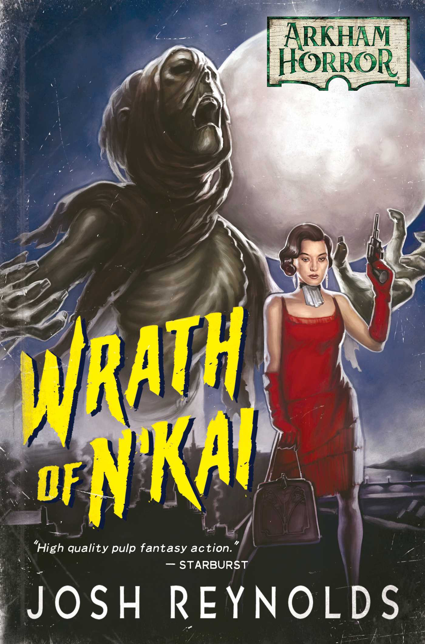 Arkham Horror Novel - Wrath of NKai