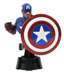 Marvel Comics - Captain America Bust