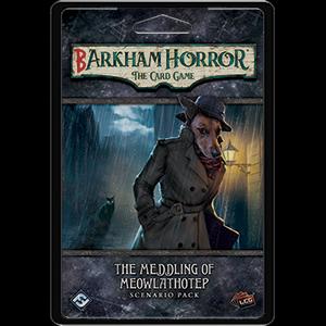Arkham Horror LCG - BArkham Horror - The Meddling of Meowlathotep Scenario Pack