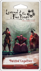 L5R Legend of the Five Rings LCG - Twisted Loyalties Dynasty Pack