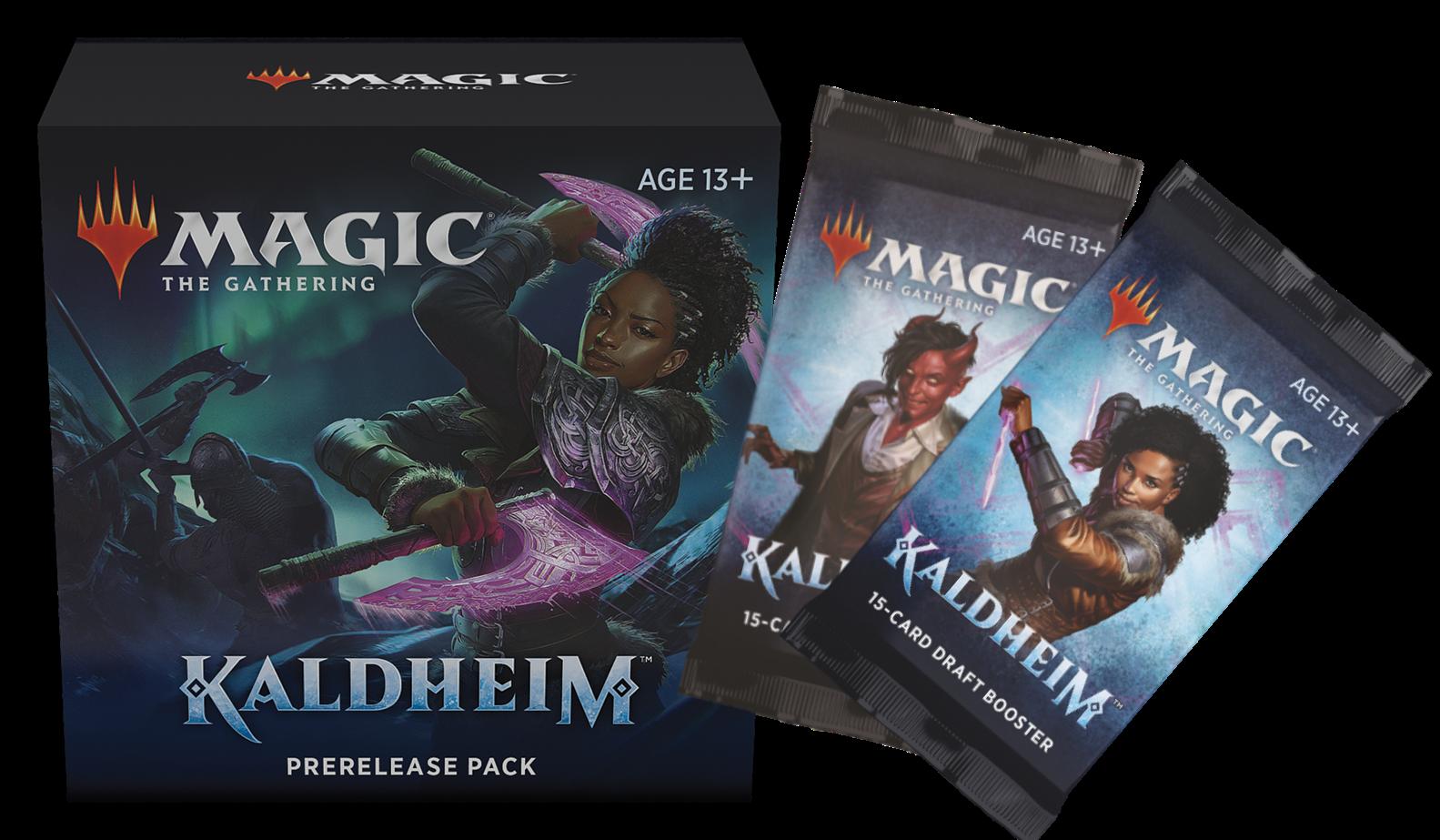 Kaldheim Prerelease Pack + 2 Kaldheim Prize Boosters