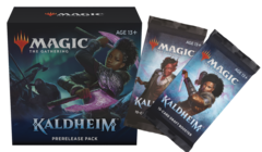 Kaldheim Prerelease Pack + 2 Kaldheim Prize Boosters (No Store Credit, No Pay in Store)
