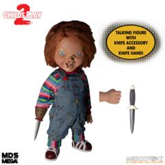 Mds Mega Scale - Talking Menacing Chucky Figure
