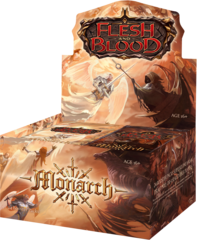 Flesh and Blood TCG - Monarch 1st Edition Booster Box (no store credit)