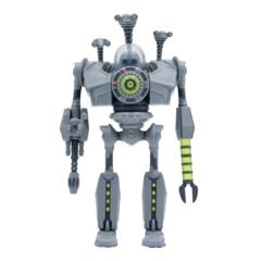 ReAction Figures - The Iron Giant - Attacking Iron Giant