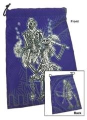 Dice Bag Skeletons + D6