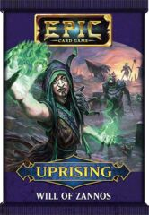 Epic Card Game - Uprising - Will of Zannos