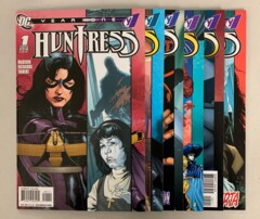 Huntress Year One (DC 2008) #1-6 Set Ivory Madison 1 2 3 4 5 6 (8.5+)