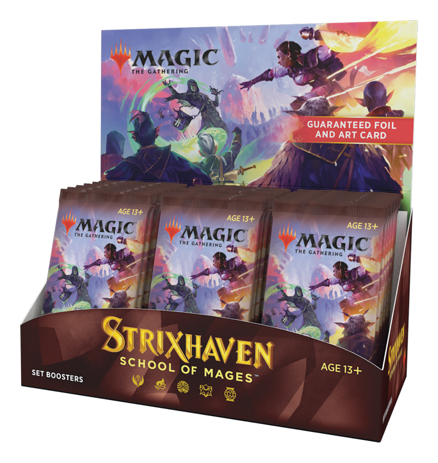 Strixhaven: School of Mages - Set Booster Box (No Pay in Store, or Store Credit)
