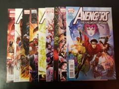 Avengers: The Children's Crusade (2010) #1-9 (8.5+) Hulkling and Wiccan First Kiss