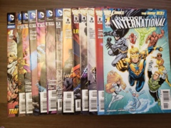 Justice League International (2011) #1-12 + Annual #1 (8.0 - 9.2)