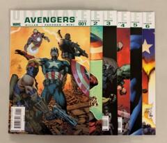 Ultimate Avengers (Marvel 2009) #1-6 Set Mark Miller 1 2 3 4 5 6 (8.5+)