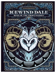Dungeons & Dragon 5E - Icewind Dale Rime of the Frostmaiden (Alternate Cover)