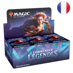 Commander Légendes - Boite de Boosters