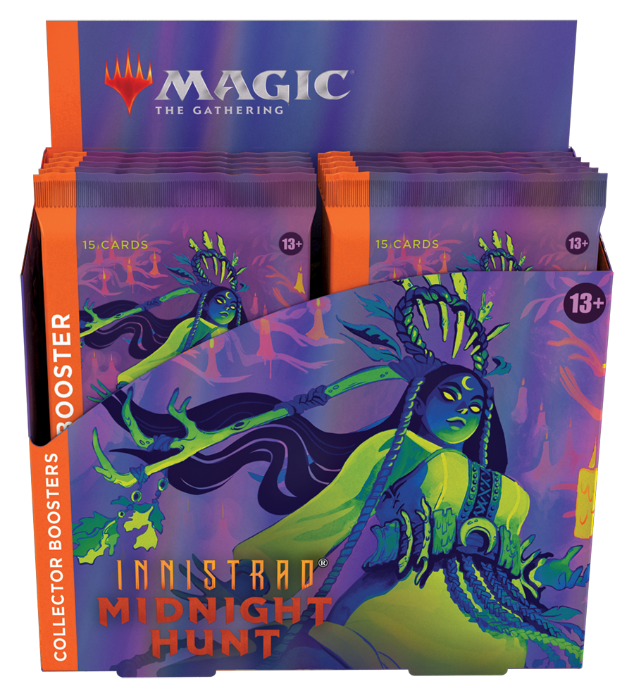 Innistrad: Midnight Hunt Collector Booster Box (no store credit or pay in store)