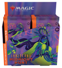 Innistrad: Midnight Hunt Collector Booster Box (no store credit)