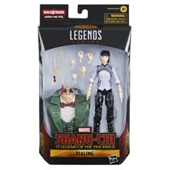 Marvel Legends - Shang-Chi Movie -  Xialing Action Figure (BAF Mr. Hyde)