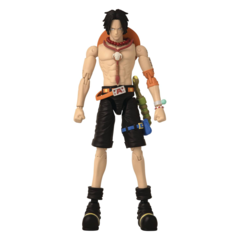 Anime Heroes - One Piece: Portgas D. Ace 6.5 Inch Action Figure