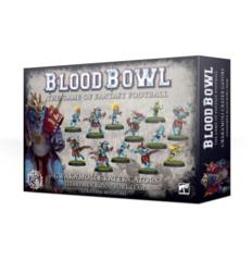 Blood Bowl - Gwaka'moli Crater Gators Lizardmen Blood Bowl Team