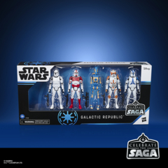 Star Wars Celebrate The Saga - Galactic Republic 5pc Action Figure Set