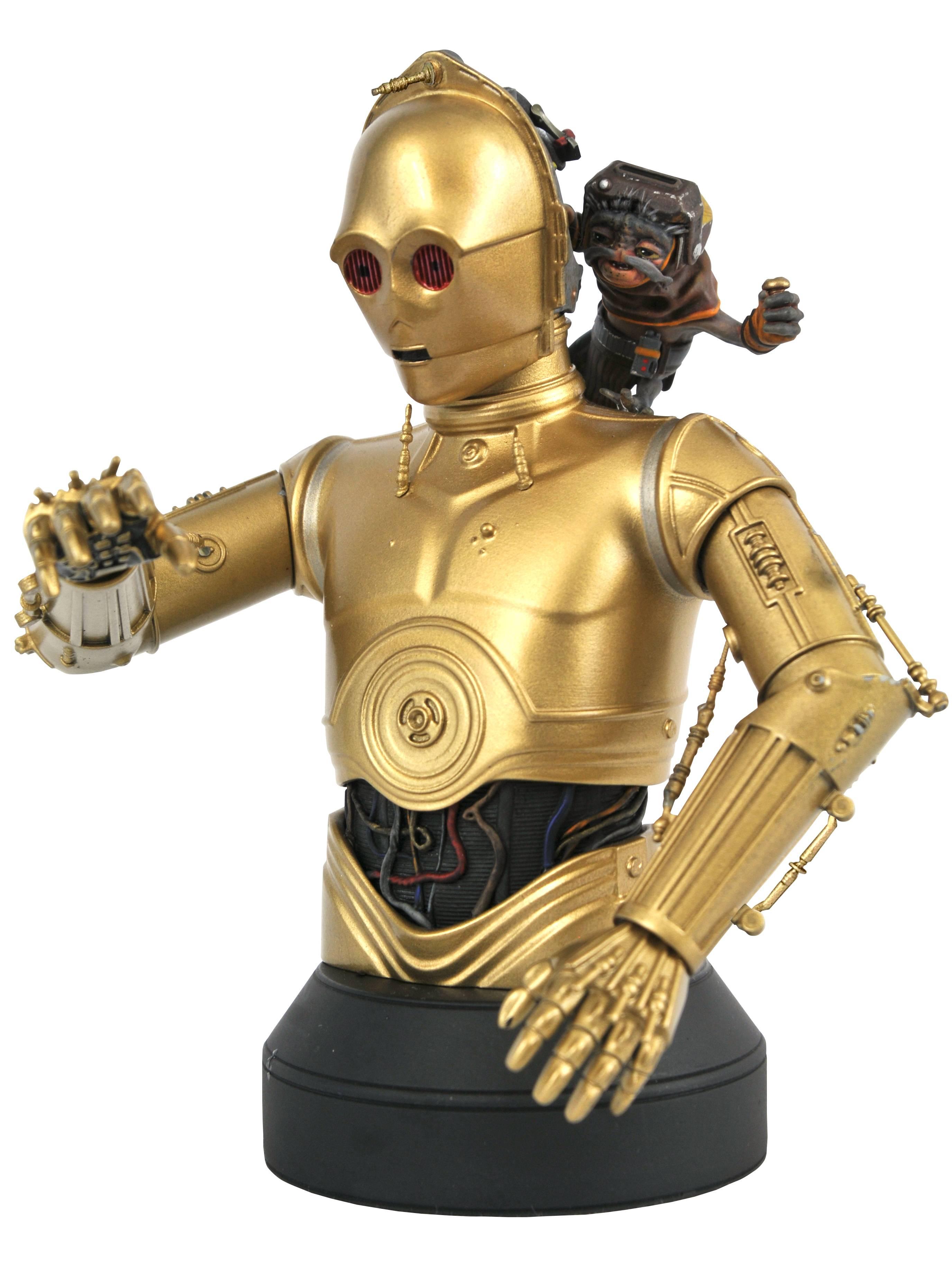 Star Wars - The Rise of Skywalker - C3PO & Babu Frik 1/6 Bust