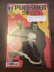 Punisher: Soviet (2019) #1-6 (by Garth Ennis & Jacen Burrows)